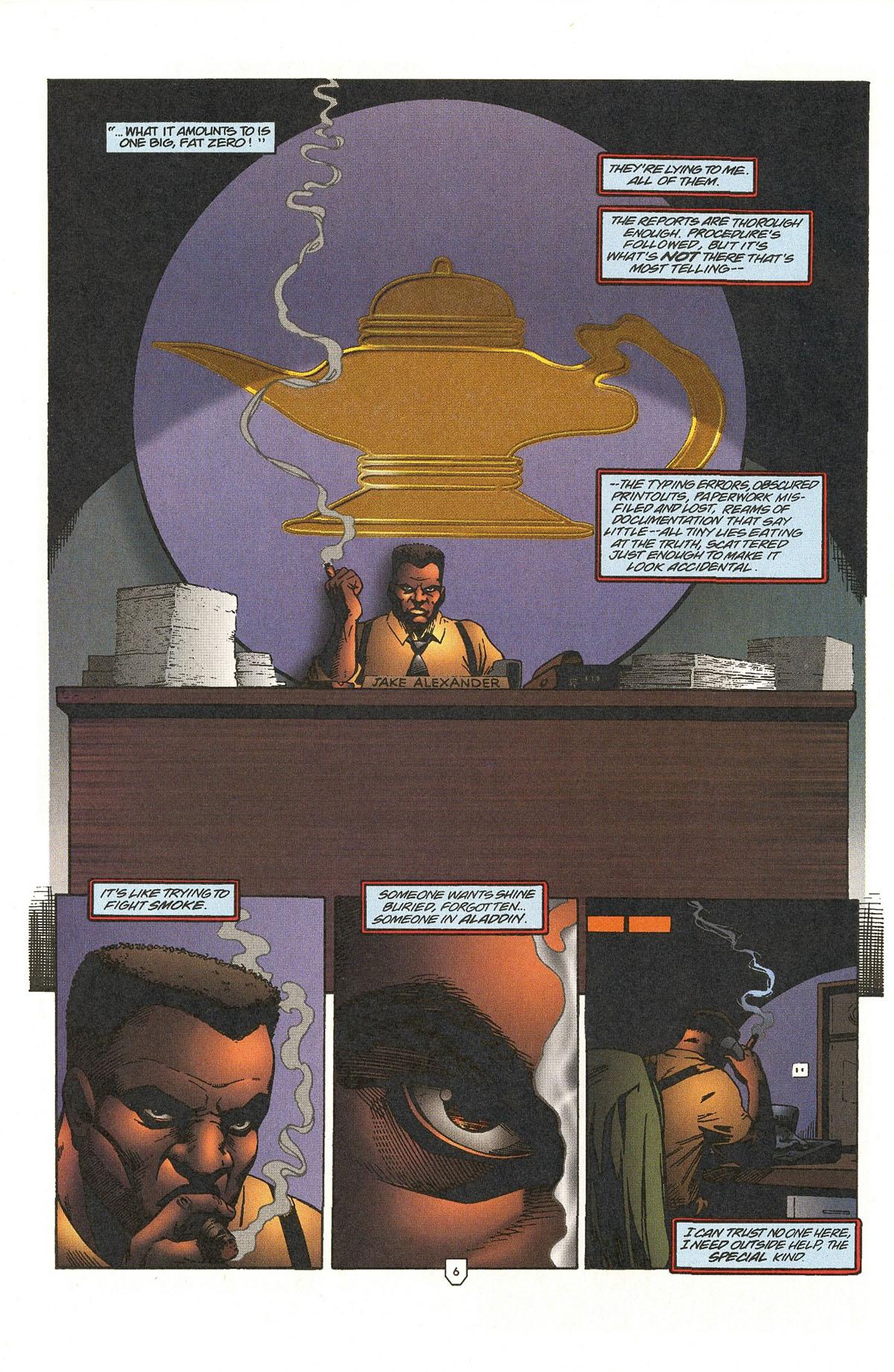 Read online UltraForce (1995) comic -  Issue #5 - 8