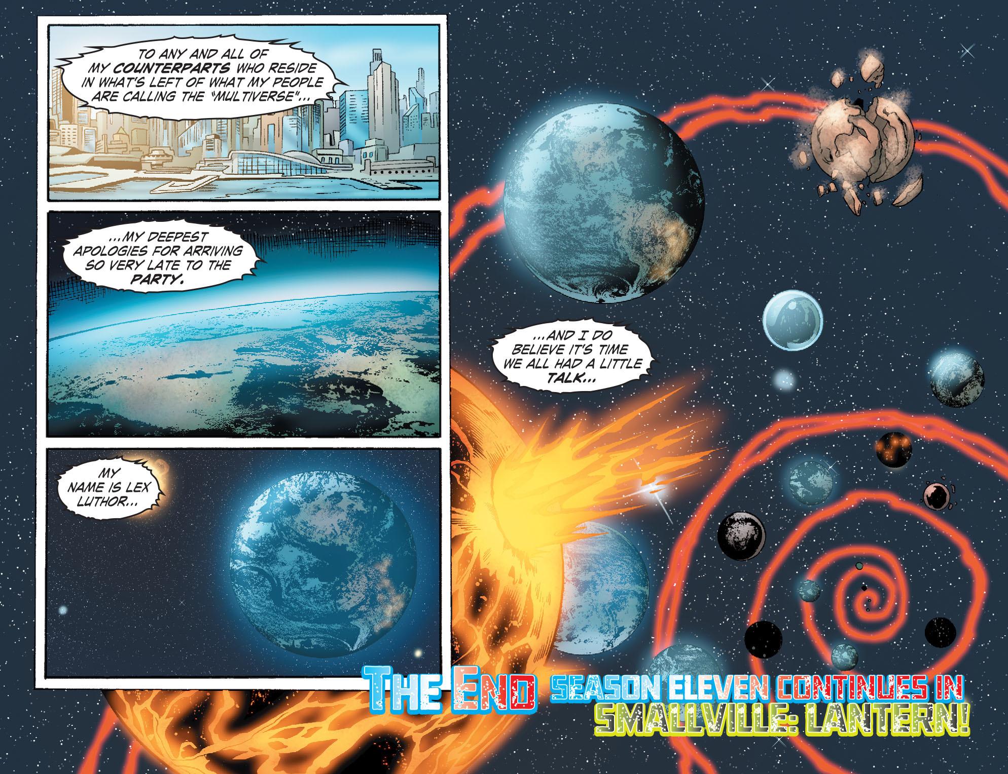 Read online Smallville: Alien comic -  Issue #12 - 22