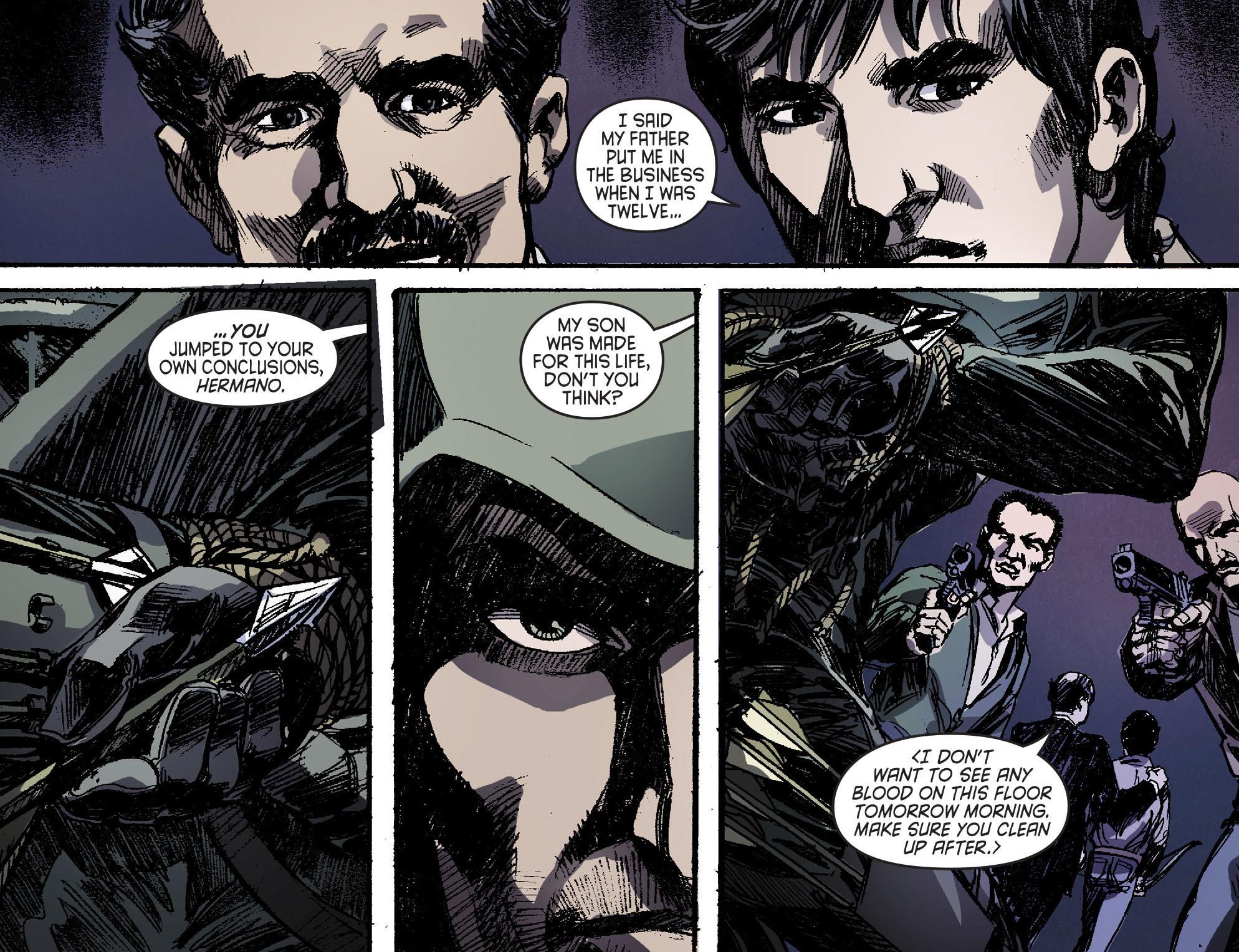 Read online Arrow [II] comic -  Issue #16 - 18