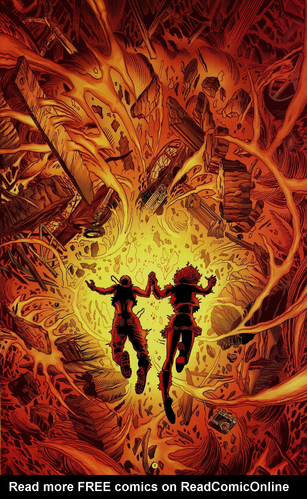 Read online Solar, Man of the Atom: Hell on Earth comic -  Issue #1 - 10
