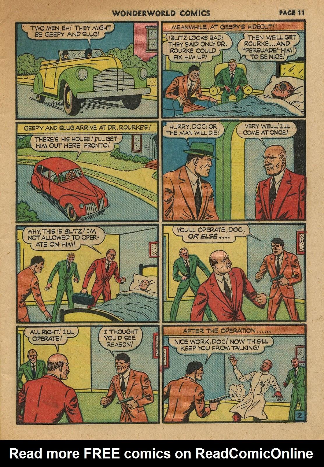 Wonderworld Comics issue 23 - Page 13