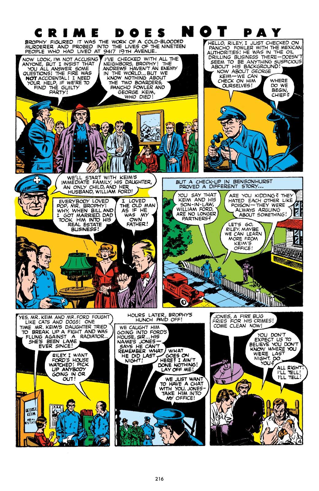 Read online Crime Does Not Pay Archives comic -  Issue # TPB 8 (Part 3) - 17
