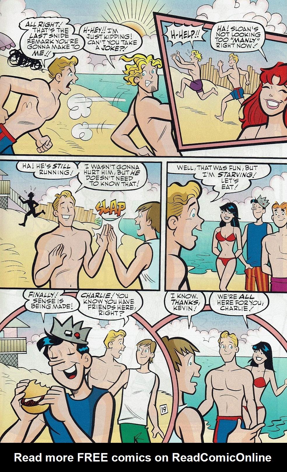 Read online Kevin Keller comic -  Issue #3 - 32