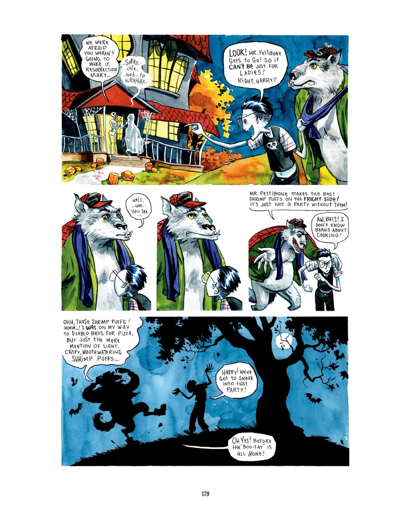 Read online Scary Godmother comic -  Issue # TPB - 179