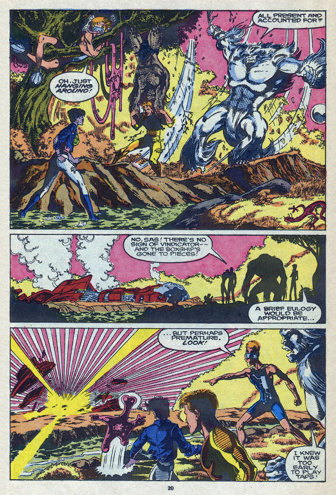 Read online Alpha Flight (1983) comic -  Issue #58 - 22