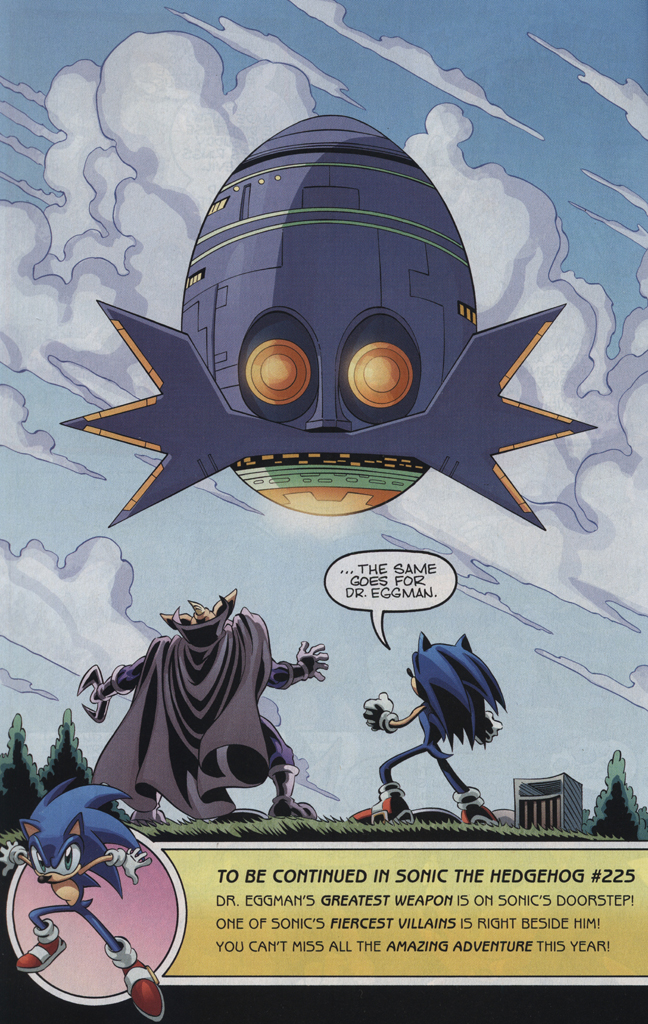 Read online Sonic the Hedgehog Free Comic Book Day Edition comic -  Issue # Special 5 - 24