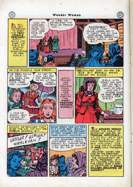 Read online Wonder Woman (1942) comic -  Issue #17 - 22
