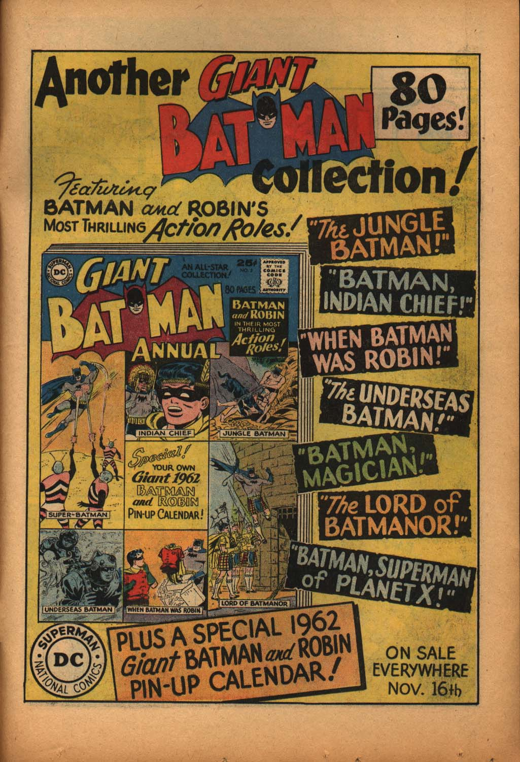 Read online Adventure Comics (1938) comic -  Issue #292 - 31