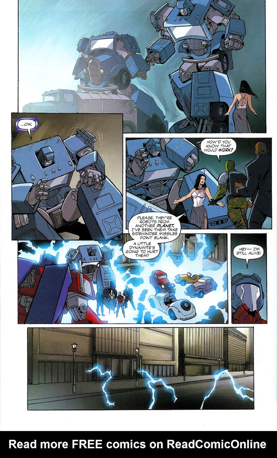 G.I. Joe vs. The Transformers II Issue #2 #3 - English 24