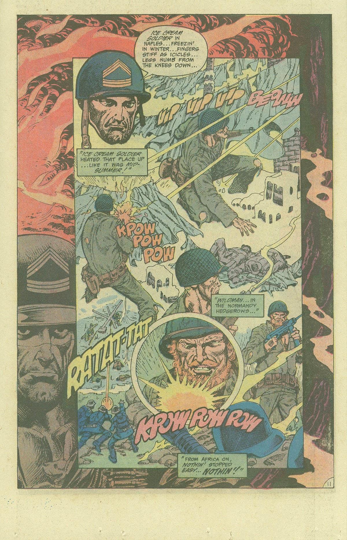 Read online Sgt. Rock comic -  Issue #400 - 14