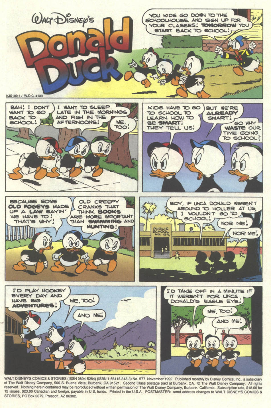Walt Disney's Comics and Stories issue 577 - Page 2