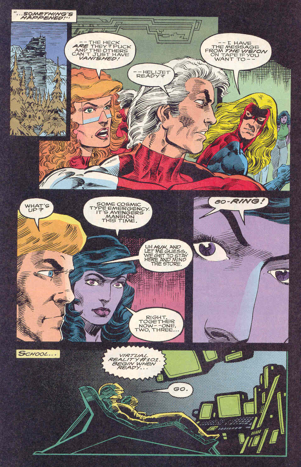 Read online Alpha Flight (1983) comic -  Issue #122 - 14