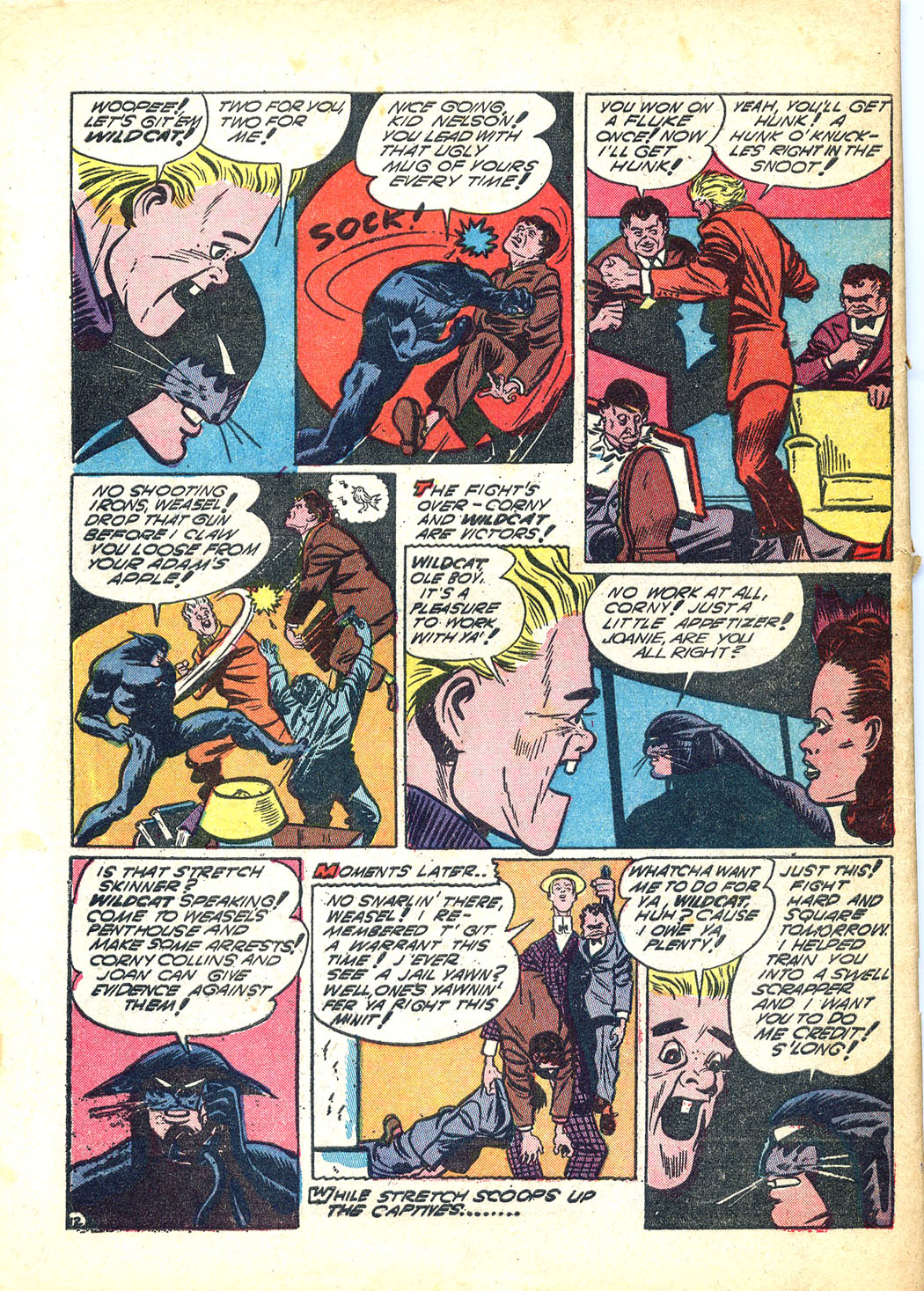 Read online Sensation (Mystery) Comics comic -  Issue #12 - 64