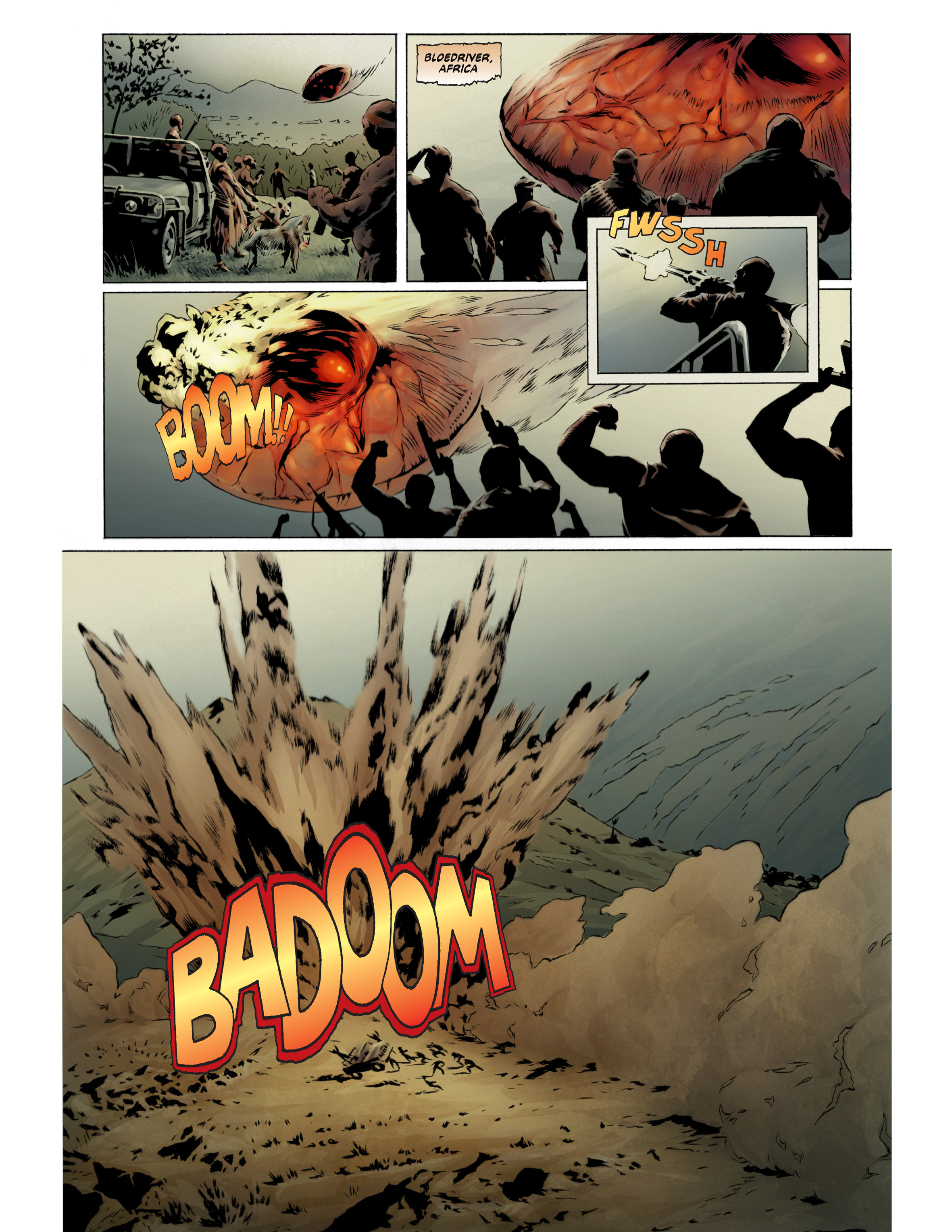 Read online Bad Planet comic -  Issue # TPB - 24