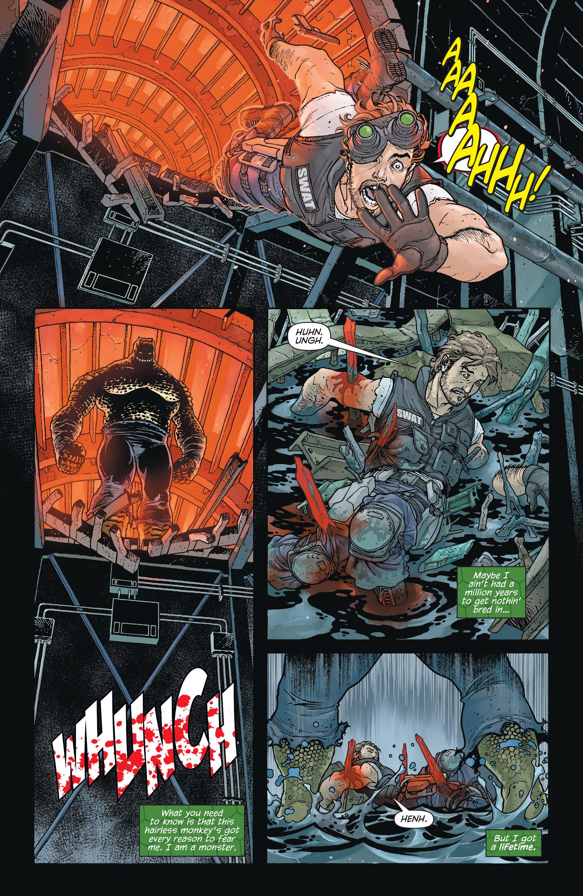 Read online Batman and Robin (2011) comic -  Issue #23.4 - 17
