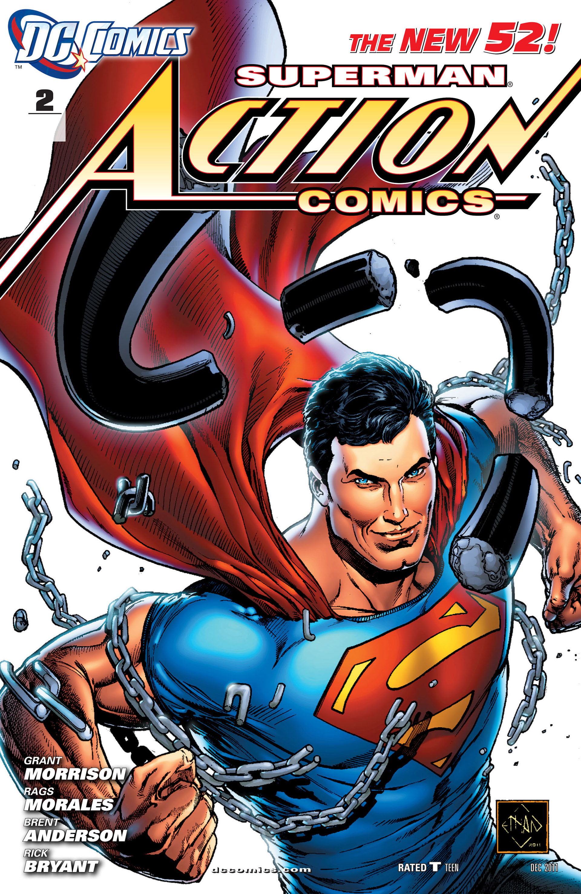 Read online Action Comics (2011) comic -  Issue #2 - 2