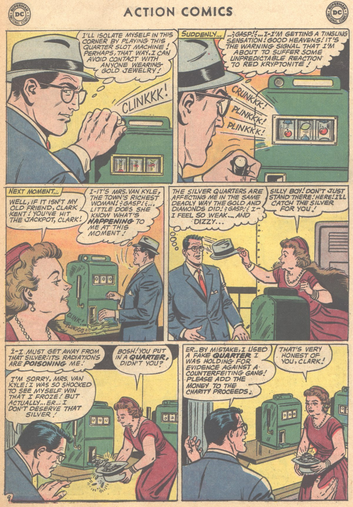 Read online Action Comics (1938) comic -  Issue #291 - 11