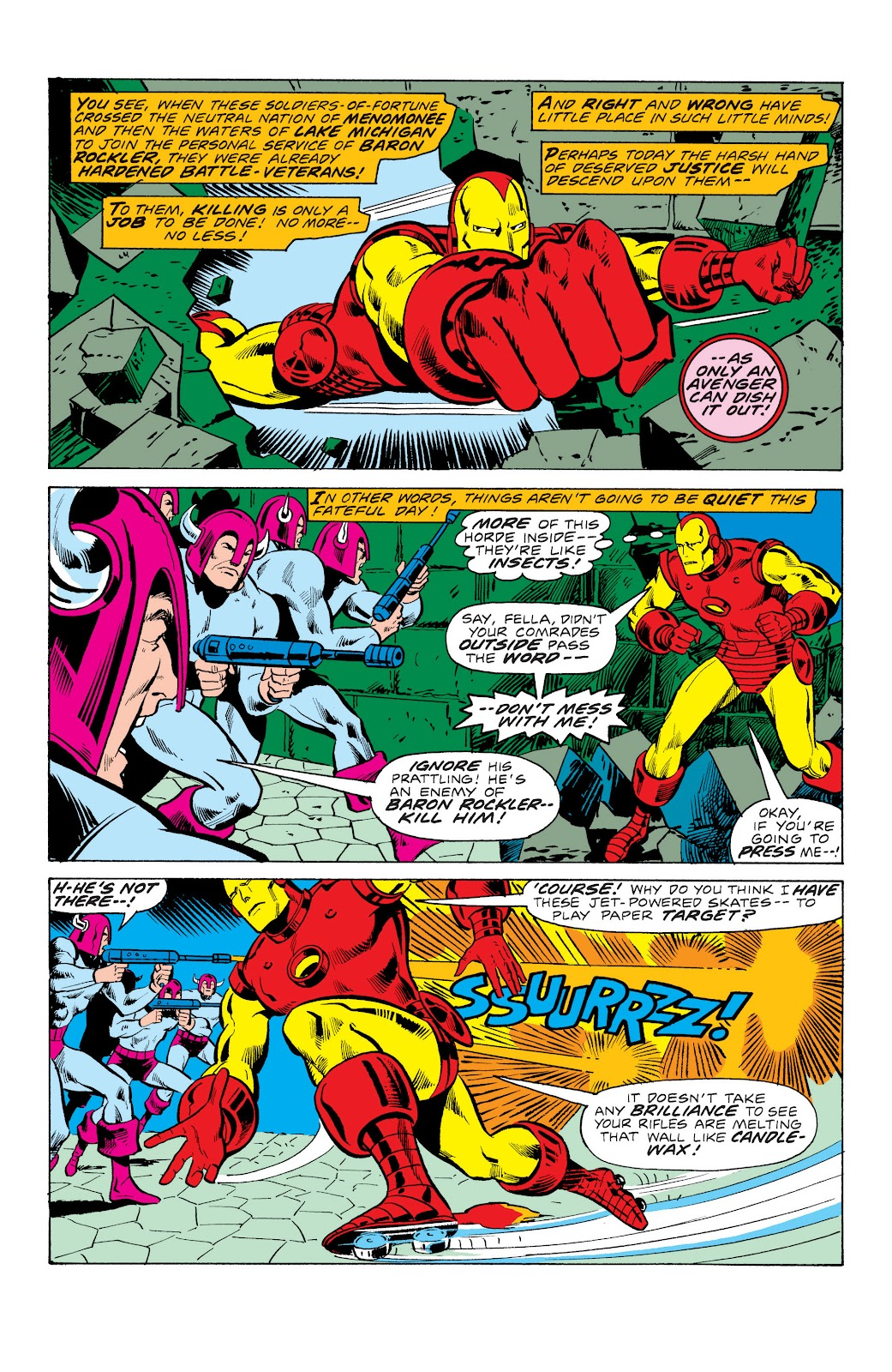 Read online Marvel Masterworks: The Invincible Iron Man comic -  Issue # TPB 10 (Part 3) - 36