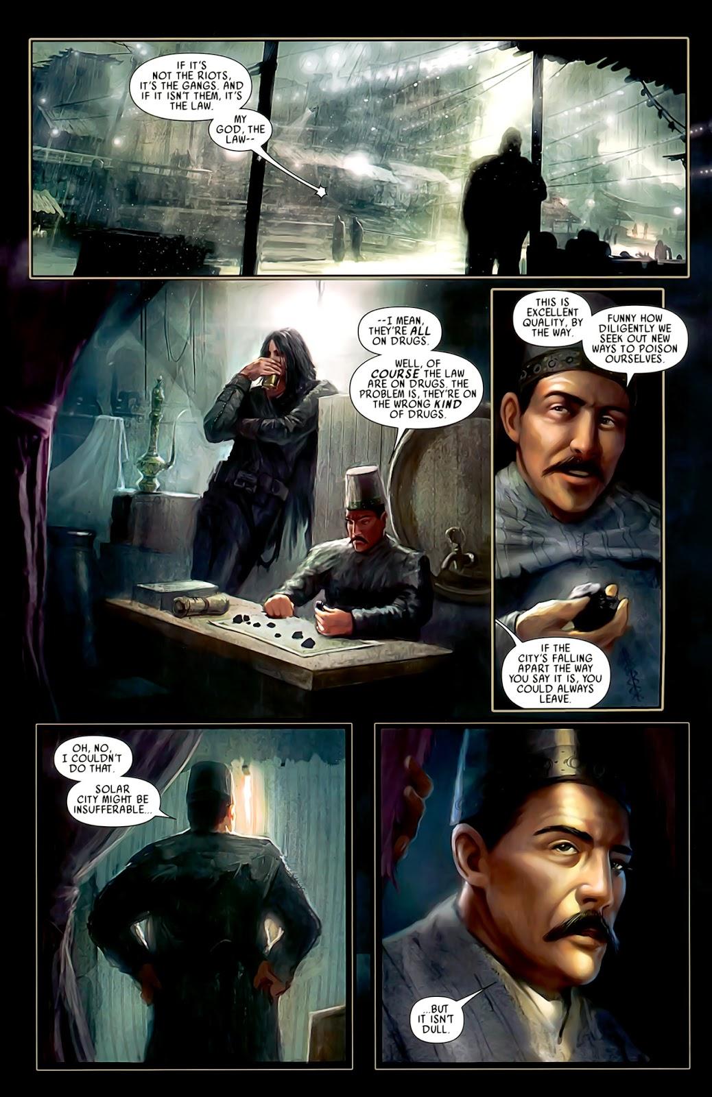 Read online After Dark comic -  Issue #0 - 10
