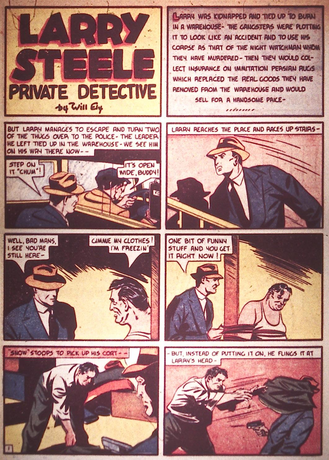 Read online Detective Comics (1937) comic -  Issue #16 - 10