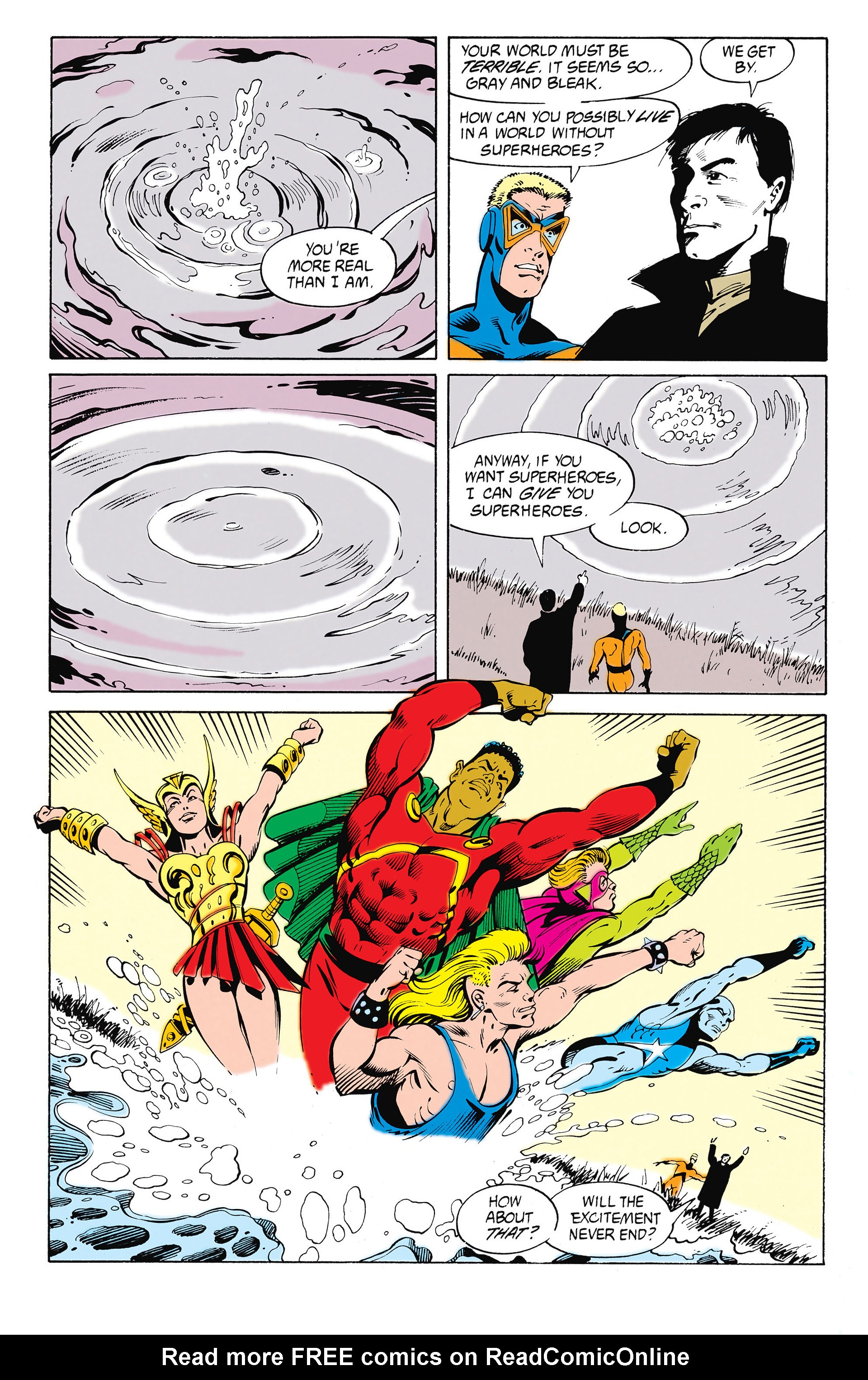 Read online Animal Man (1988) comic -  Issue #26 - 11