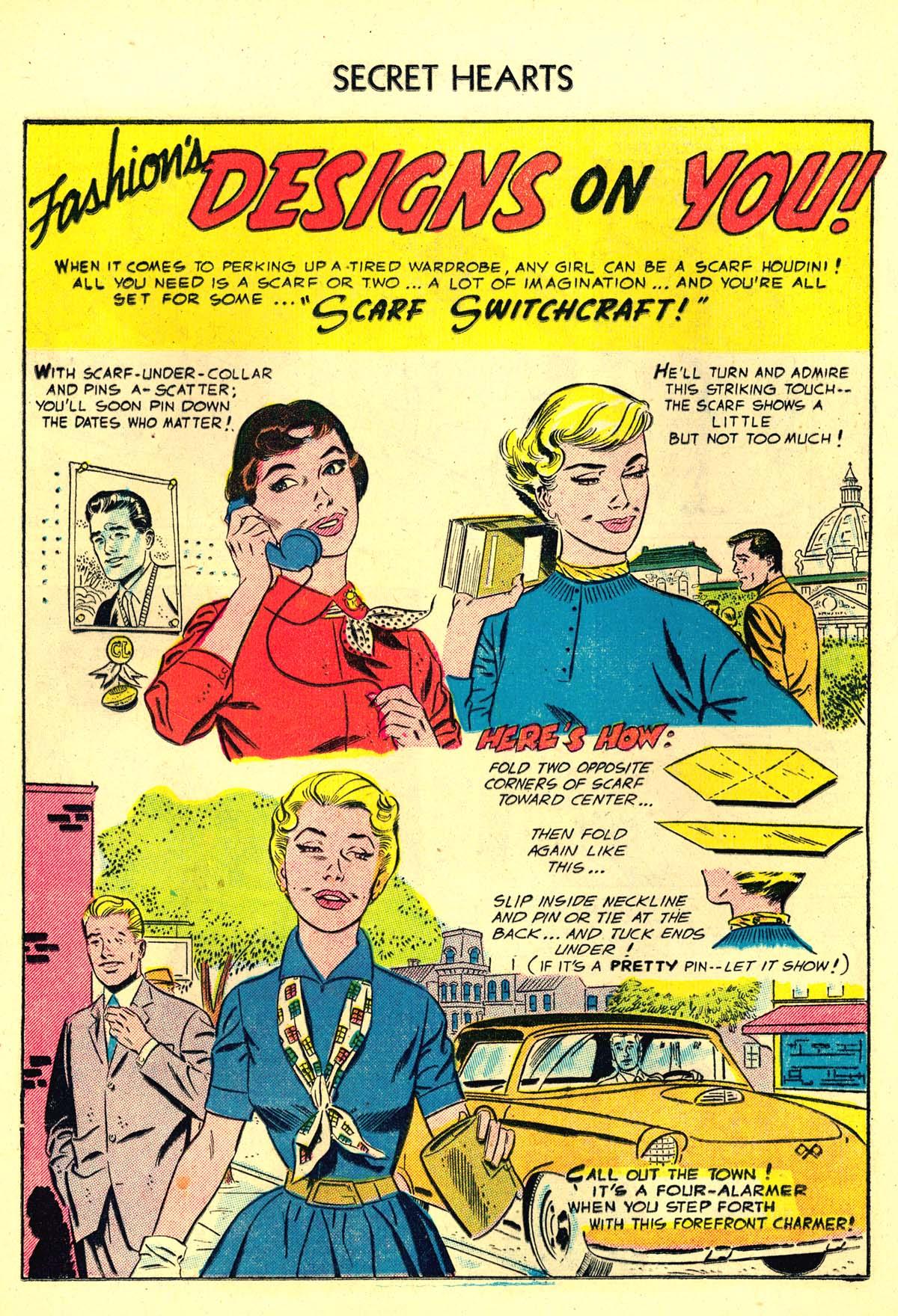 Read online Secret Hearts comic -  Issue #34 - 16
