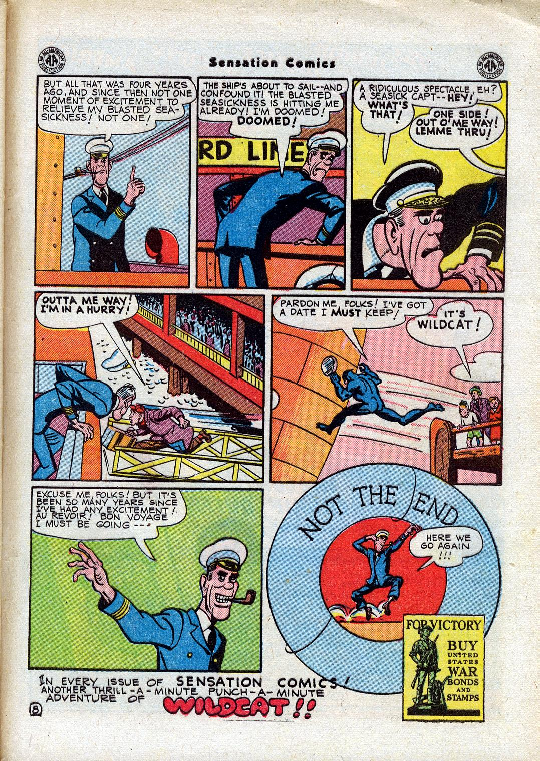 Read online Sensation (Mystery) Comics comic -  Issue #44 - 49