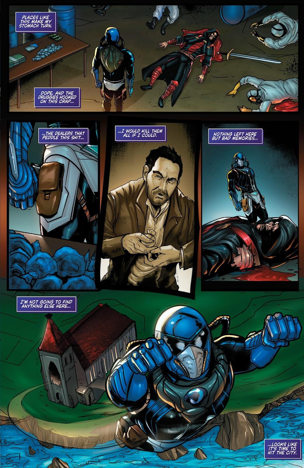 Read online Zodiac comic -  Issue #1 - 11