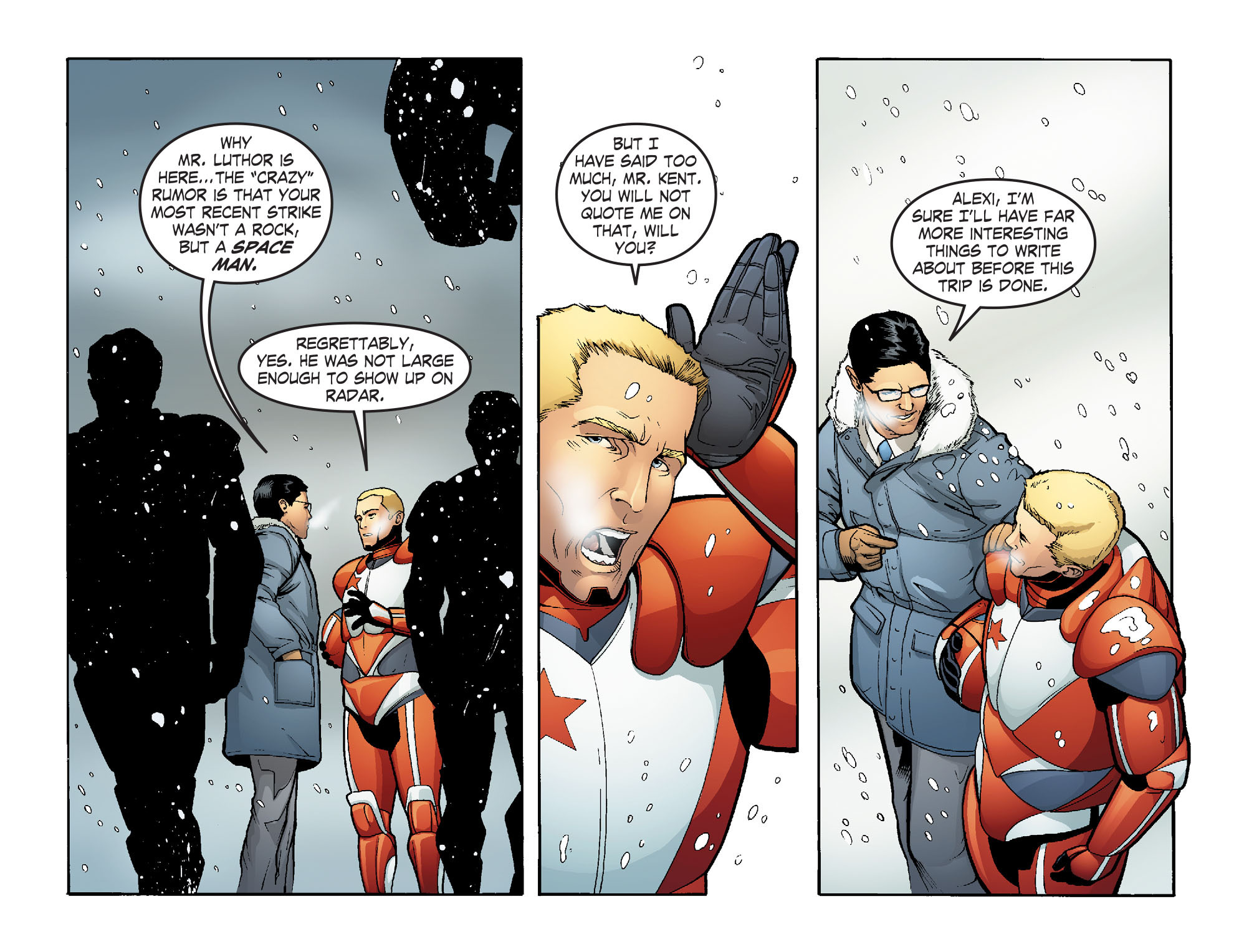 Read online Smallville: Alien comic -  Issue #5 - 13