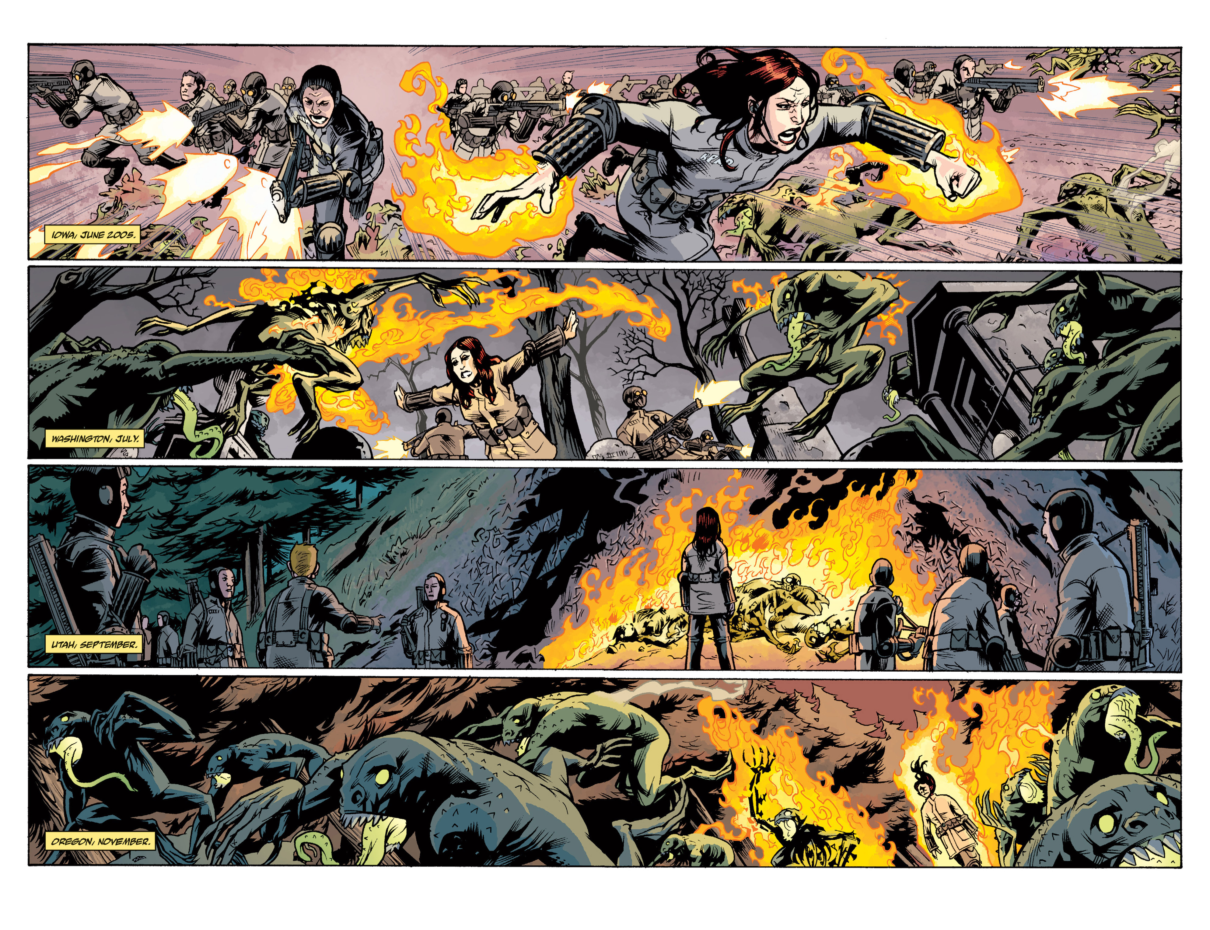 Read online B.P.R.D. (2003) comic -  Issue # TPB 12 - 112