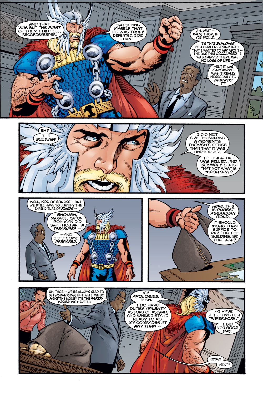 Read online Avengers (1998) comic -  Issue #56 - 14