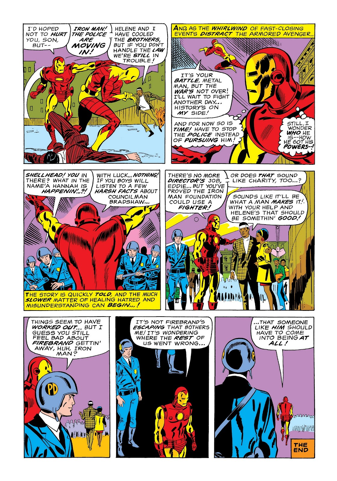 Read online Marvel Masterworks: The Invincible Iron Man comic -  Issue # TPB 7 (Part 1) - 48