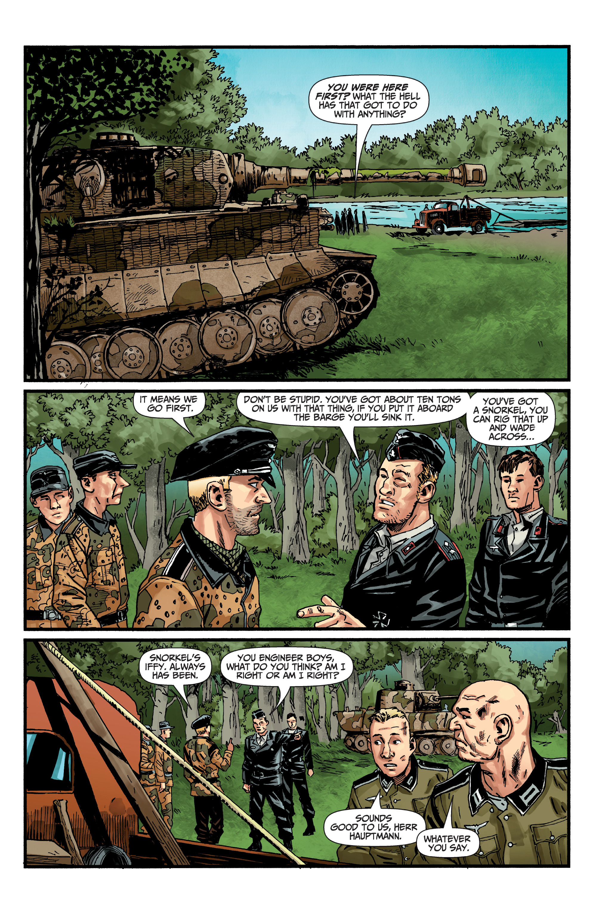 Read online World of Tanks comic -  Issue #5 - 6