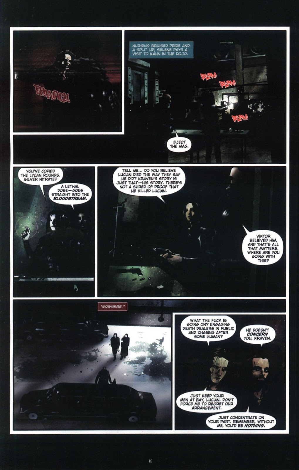 Read online Underworld (2003) comic -  Issue # Full - 20