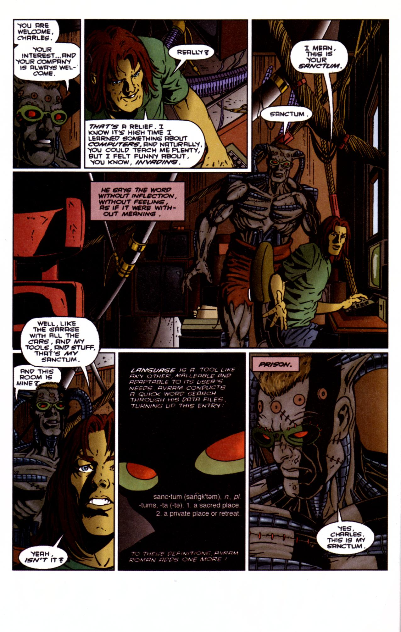 Barb Wire (1994) issue 4 - Page 9