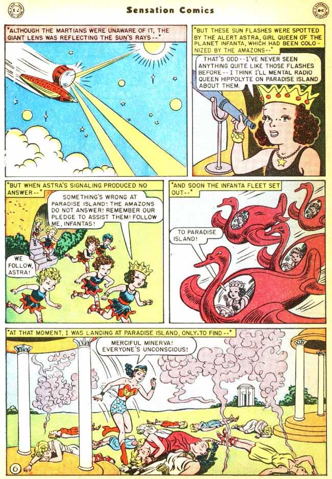 Read online Sensation (Mystery) Comics comic -  Issue #92 - 8