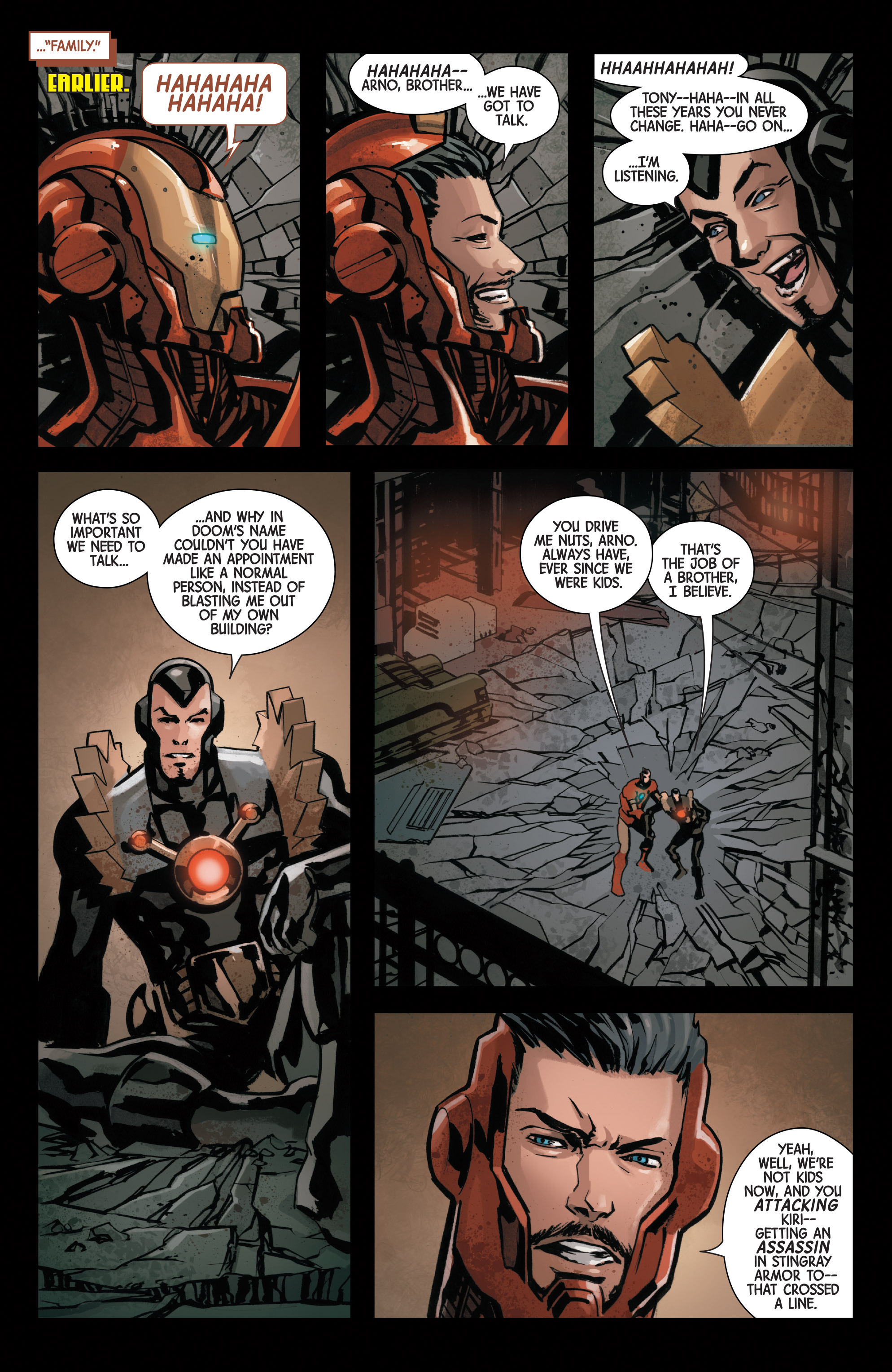 Read online Armor Wars comic -  Issue #5 - 8
