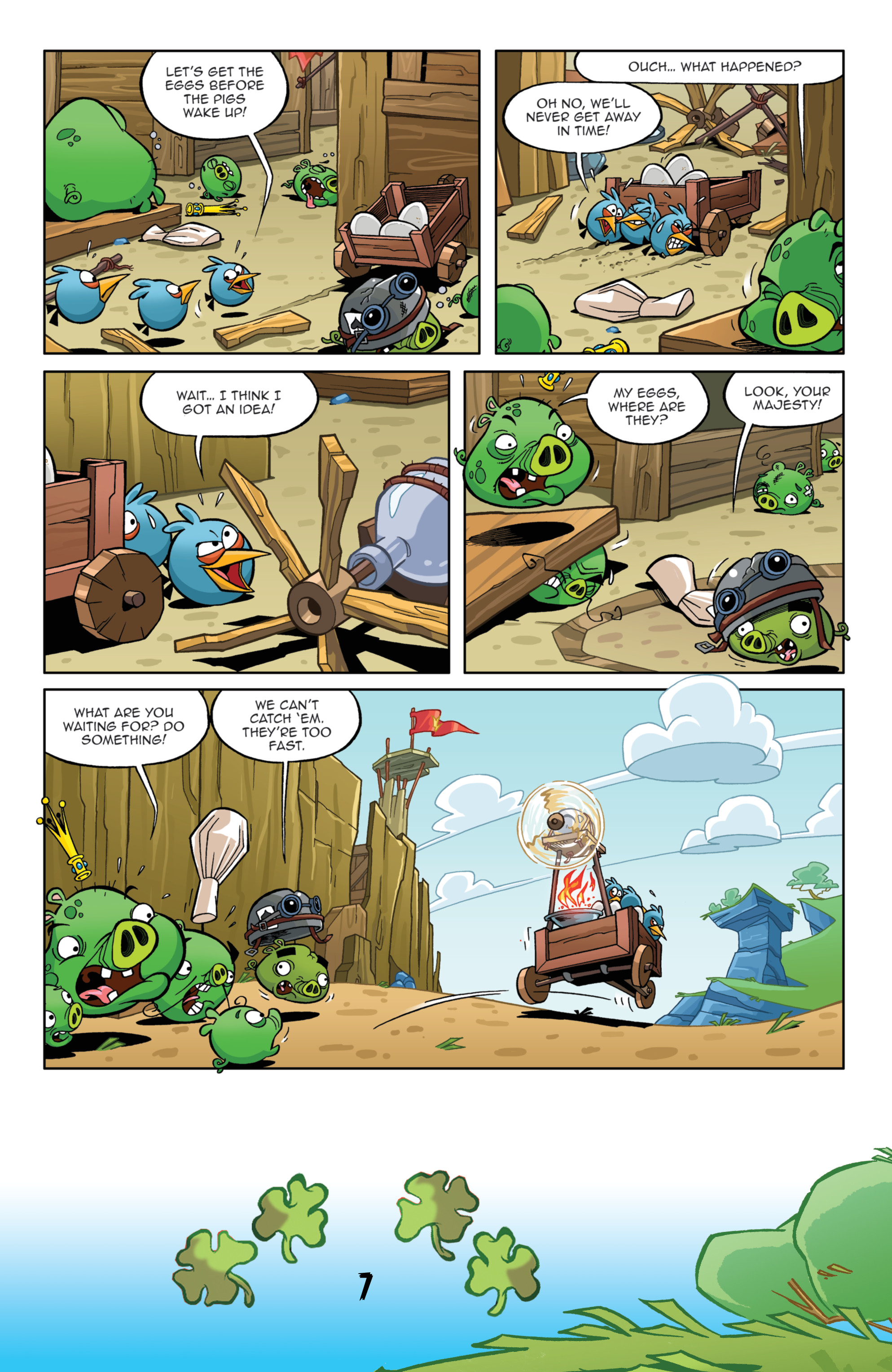 Read online Angry Birds Comics (2016) comic -  Issue #3 - 9