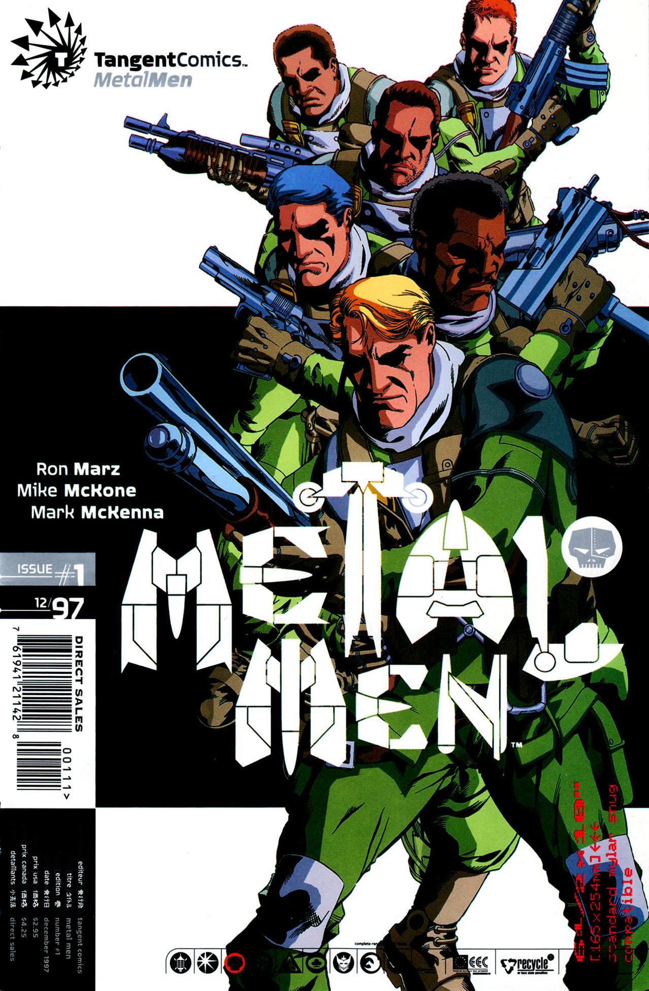 Read online Tangent Comics/ Metal Men comic -  Issue # Full - 1
