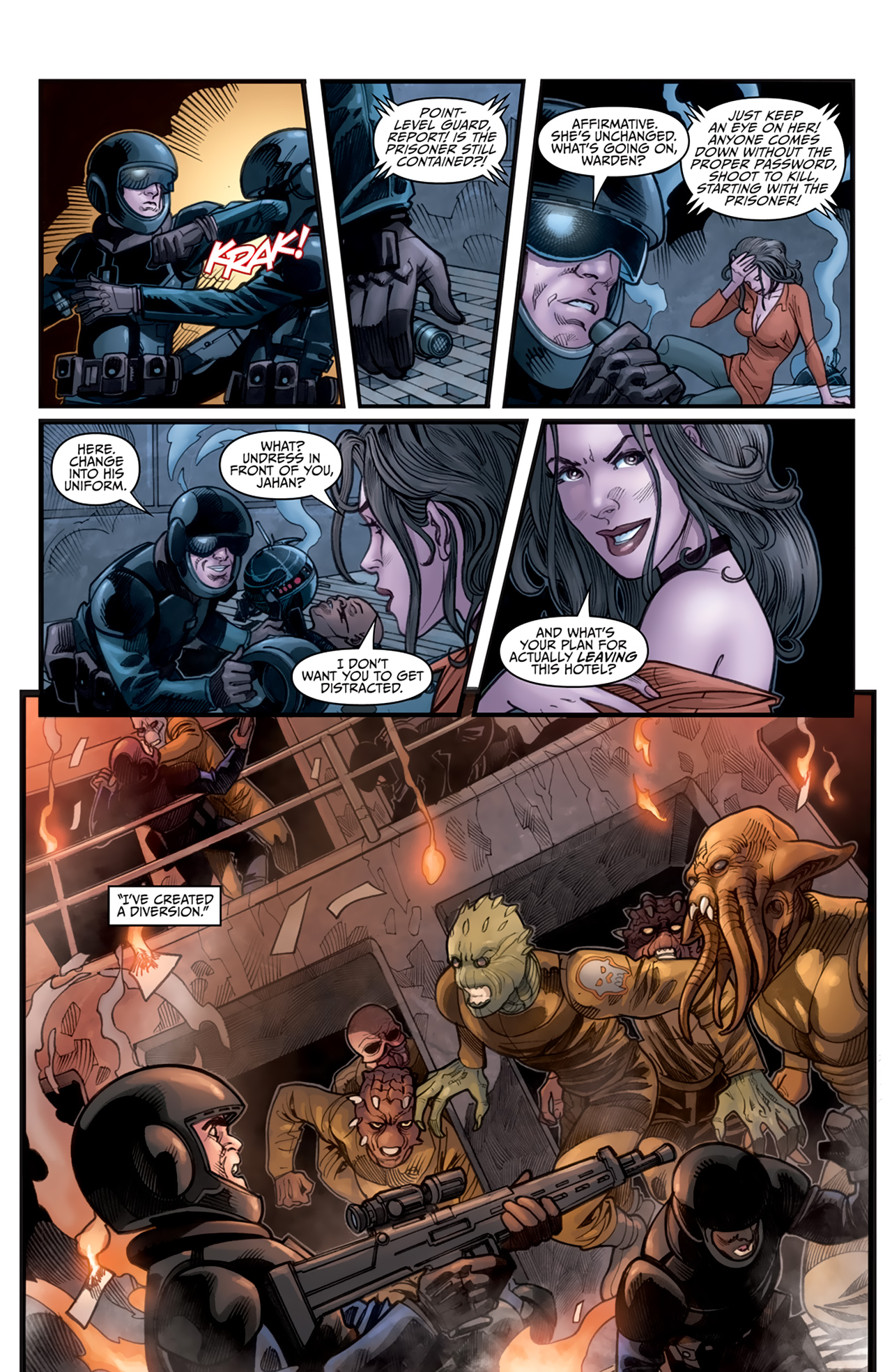 Read online Star Wars: Agent Of The Empire - Hard Targets comic -  Issue #3 - 18