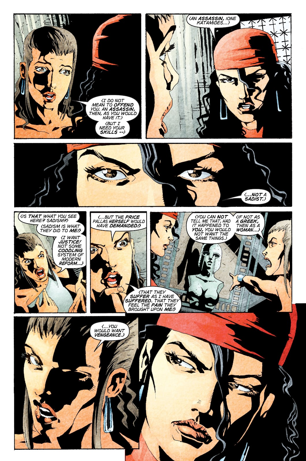 Read online Elektra (2001) comic -  Issue # _TPB Elektra by Greg Rucka Ultimate Collection (Part 1) - 58