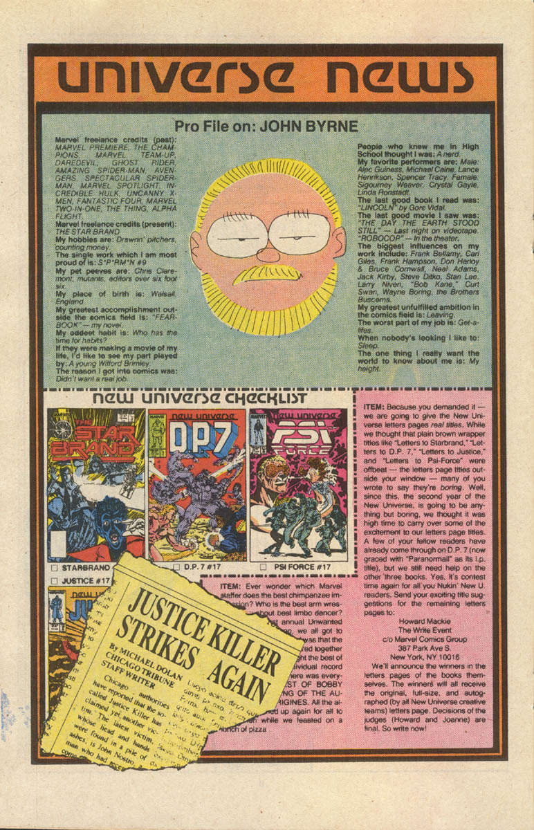 Read online Justice (1986) comic -  Issue #17 - 21