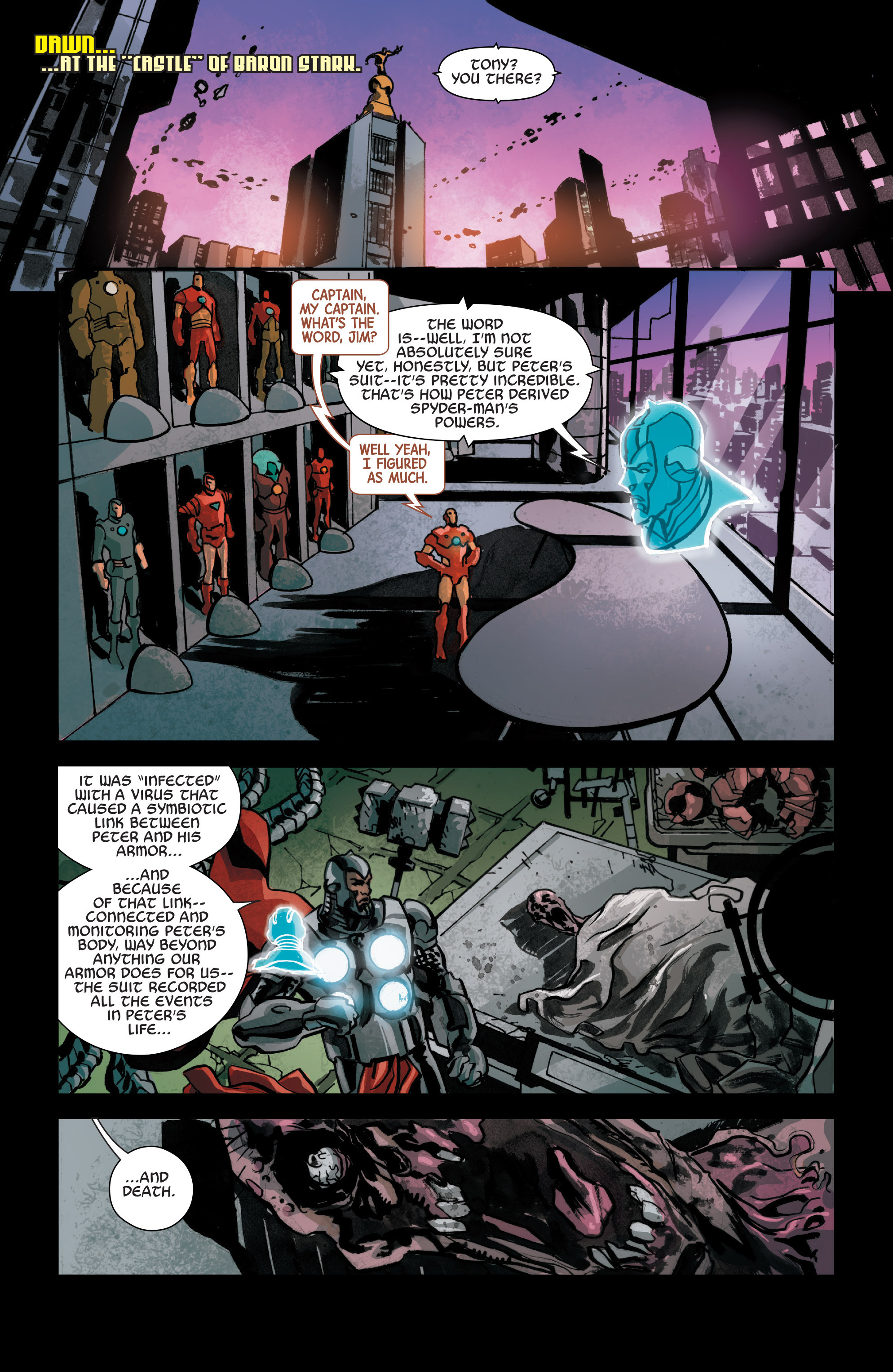 Read online Armor Wars comic -  Issue #2 - 22