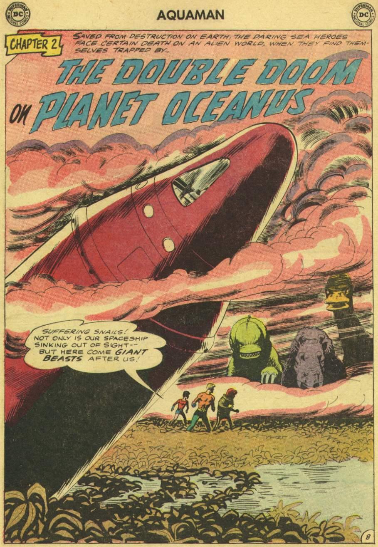 Read online Aquaman (1962) comic -  Issue #8 - 12
