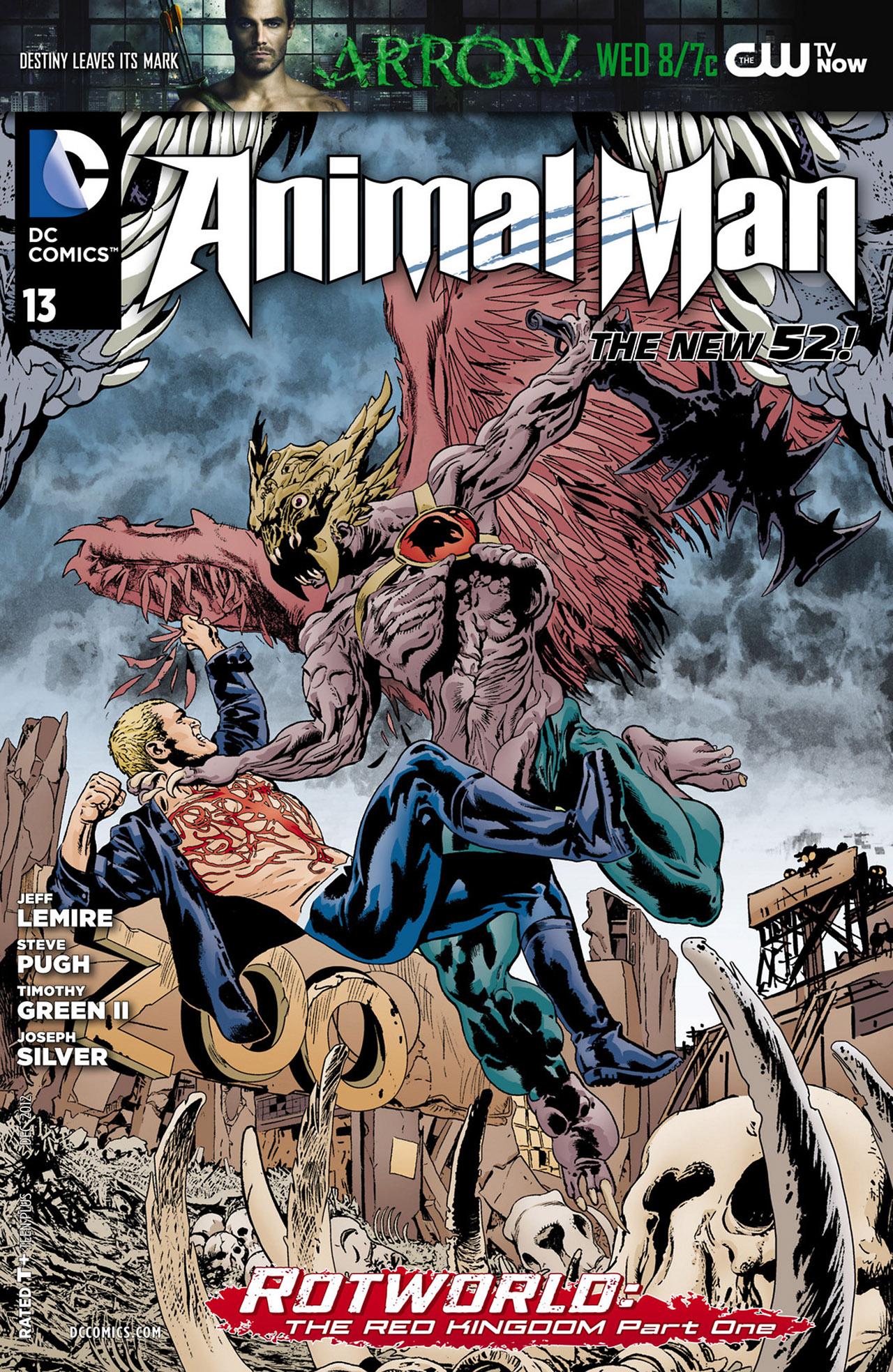 Animal Man (2011) 13 Page 1