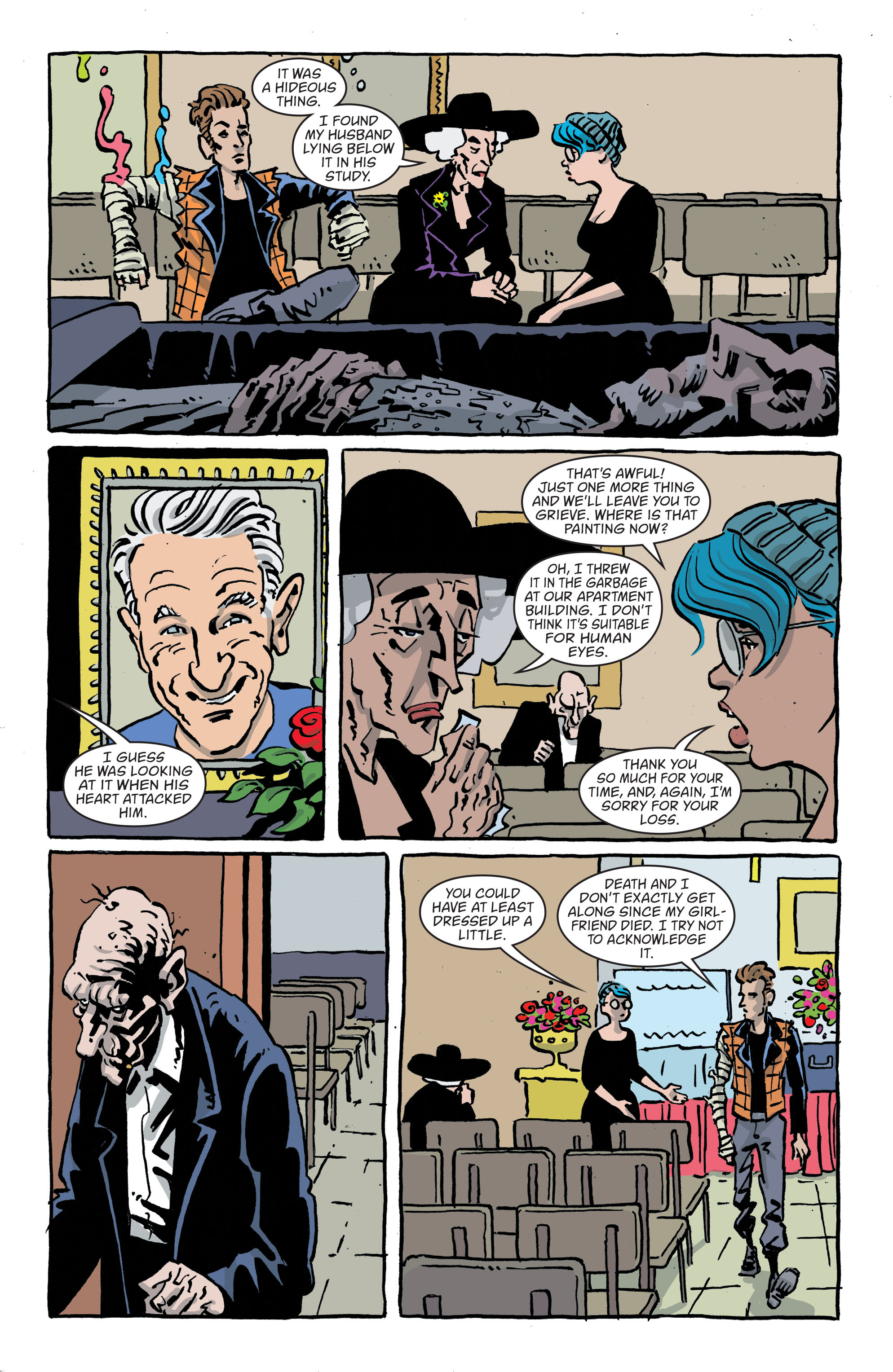 Read online Art Ops comic -  Issue #11 - 10