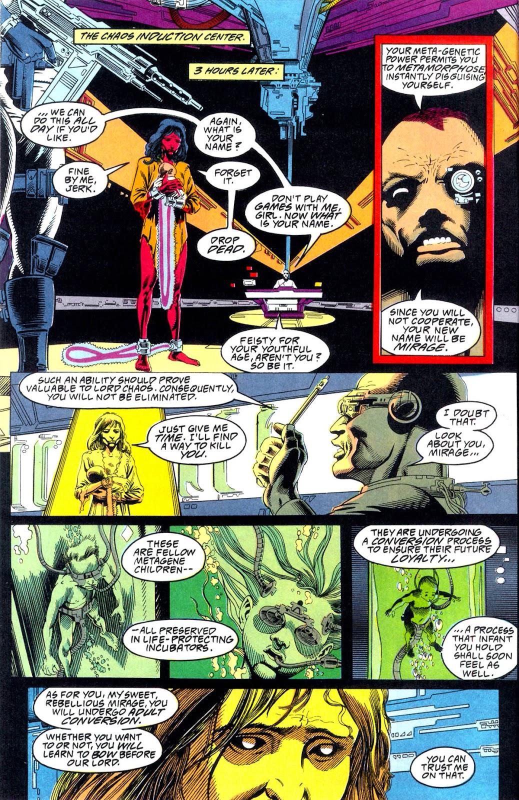 Read online Team Titans comic -  Issue #1b - 7