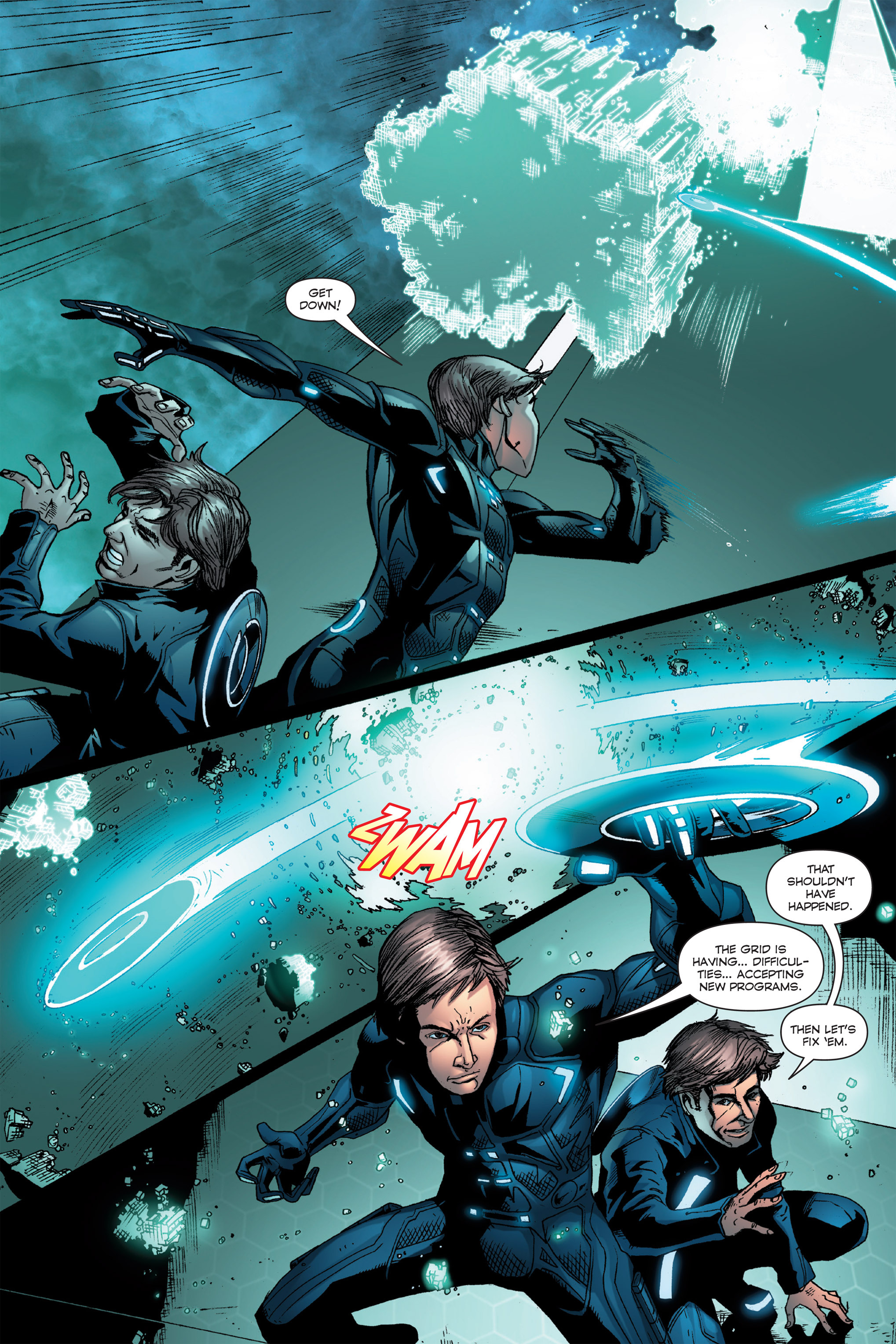 Read online TRON: Betrayal comic -  Issue # TPB - 53
