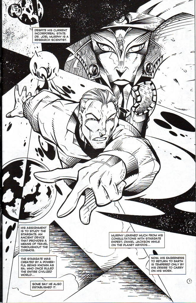 Read online Stargate: One Nation Under Ra comic -  Issue # Full - 3