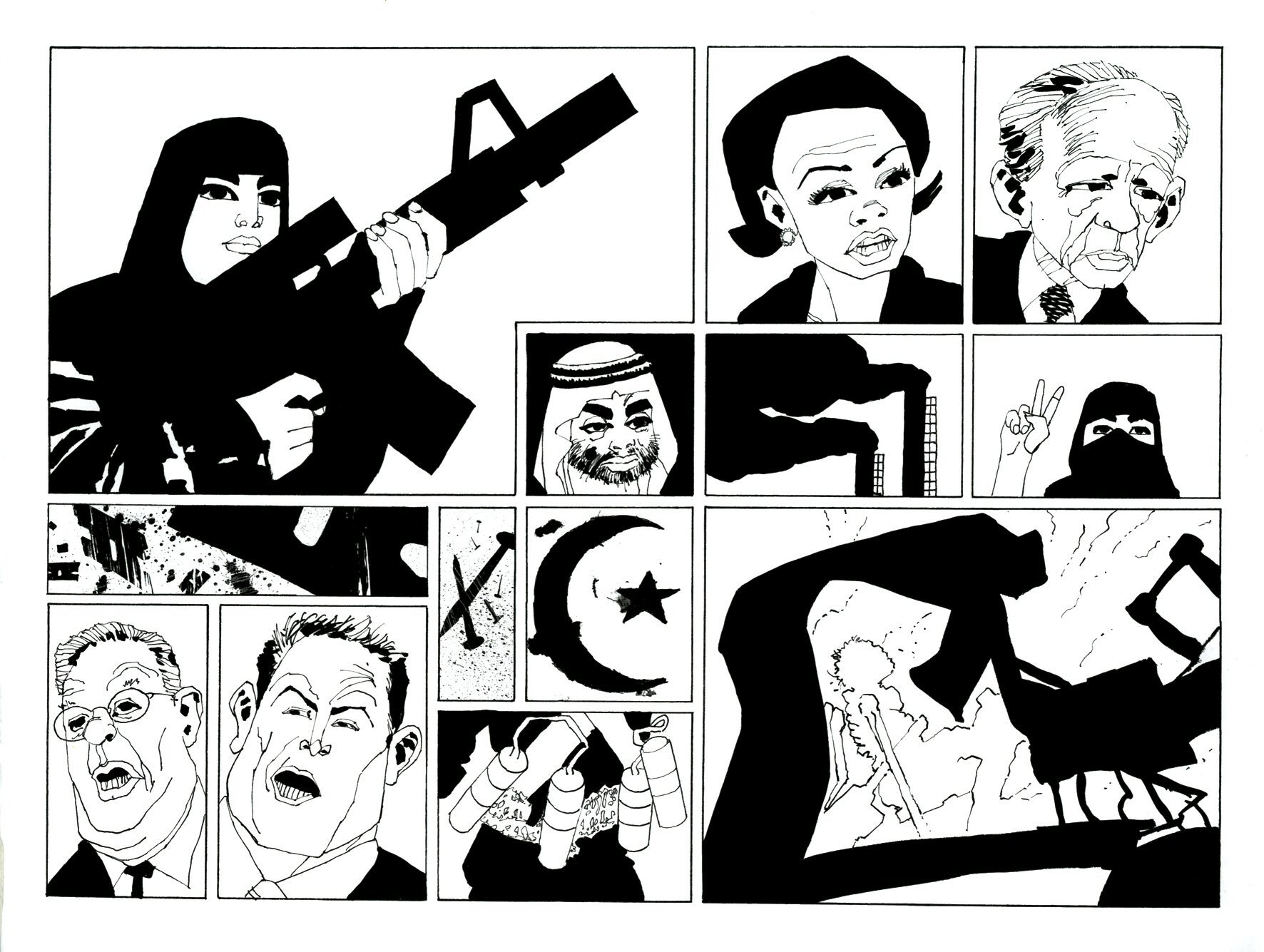 Read online Frank Miller's Holy Terror comic -  Issue # TPB - 66